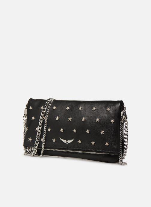 Sacs à main Zadig & Voltaire ROCK STAR Noir vue portées chaussures