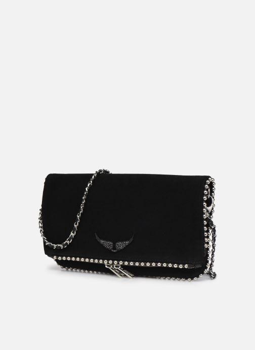 Handtaschen Zadig & Voltaire ROCK SUEDE schwarz schuhe getragen