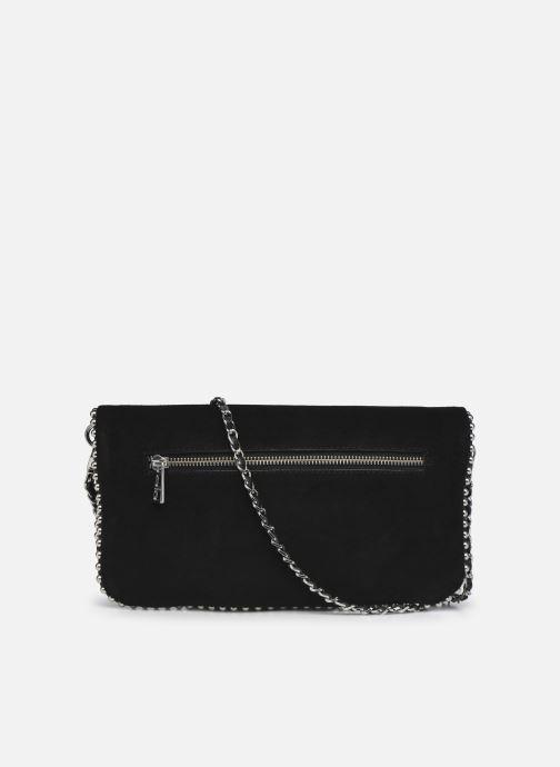 Handtaschen Zadig & Voltaire ROCK SUEDE schwarz ansicht von vorne
