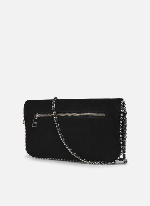 Handtaschen Zadig & Voltaire ROCK SUEDE schwarz ansicht von rechts