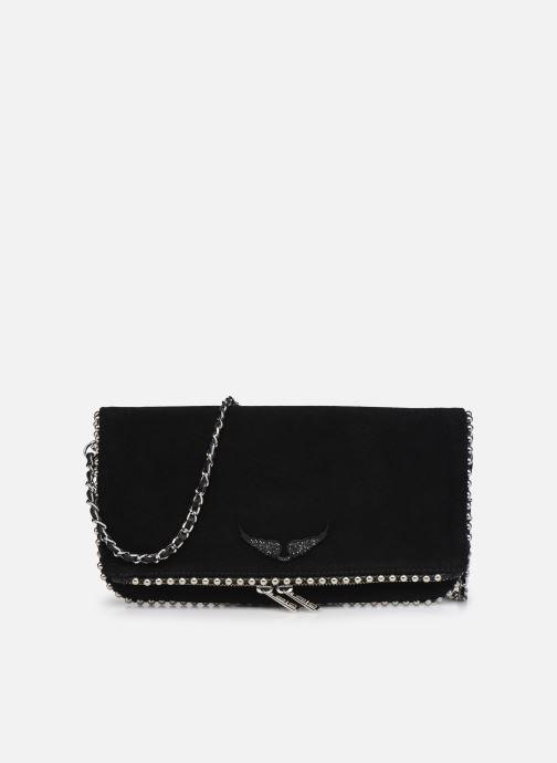 Handtaschen Zadig & Voltaire ROCK SUEDE schwarz detaillierte ansicht/modell