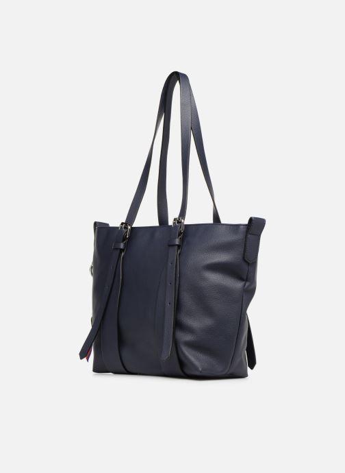 Handtassen Esprit Liz Shopper Blauw model