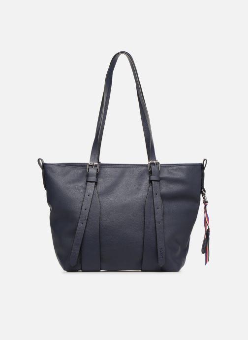 Handtassen Esprit Liz Shopper Blauw voorkant
