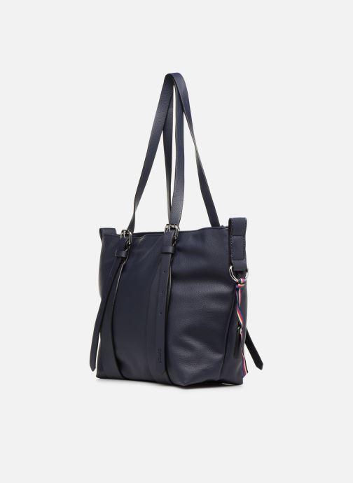 Handtassen Esprit Liz Shopper Blauw rechts