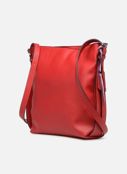 Sacs à main Esprit Liz Middle Shoulder Bag Rouge vue droite