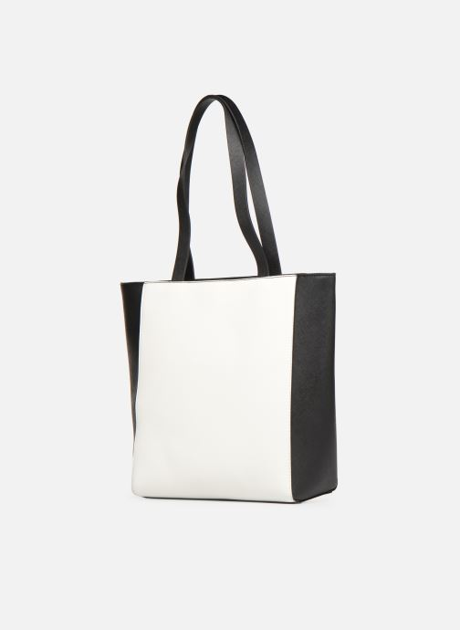 Sacs à main Esprit Lara Shopper Blanc vue droite