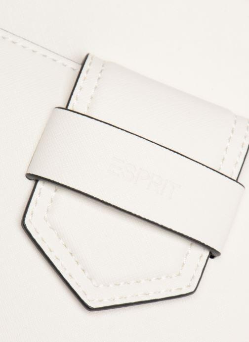 Handbags Esprit Lara Shopper White view from the left