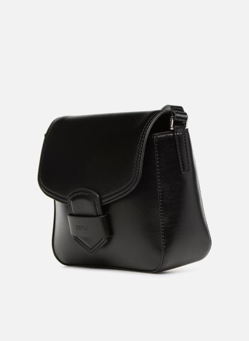 Sacs à main Esprit Lara Shoulder Bag Noir vue portées chaussures