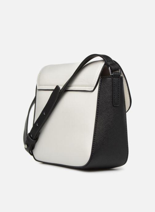 Bolsos de mano Esprit Lara Shoulder Bag Blanco vista lateral derecha