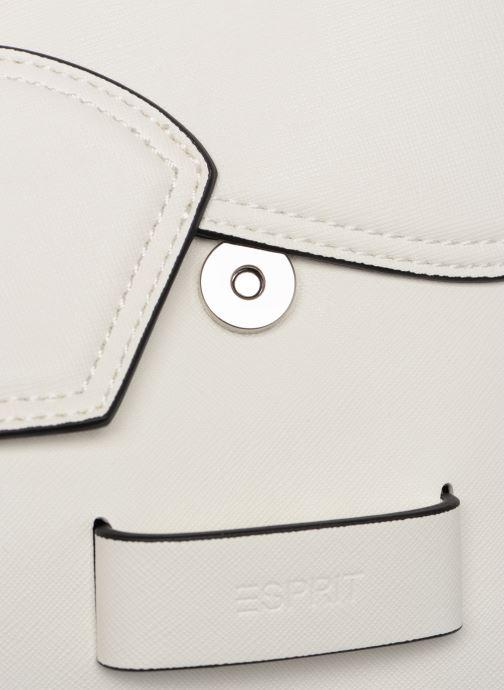 Bolsos de mano Esprit Lara Shoulder Bag Blanco vista lateral izquierda