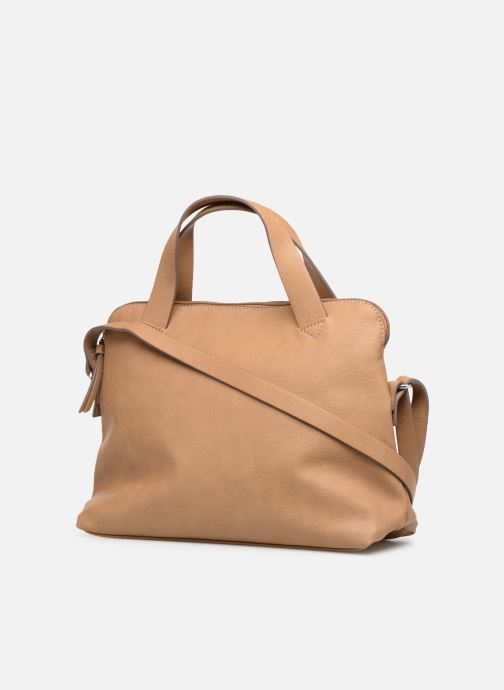 Handbags Esprit Lexi City Bag Beige view from the right