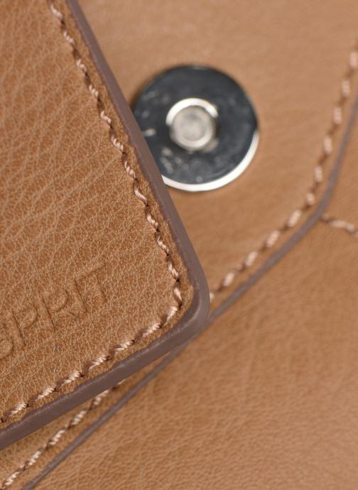 Handtassen Esprit Lexi City Bag Beige achterkant