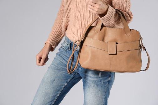 Sacs à main Esprit Lexi City Bag Beige vue bas / vue portée sac