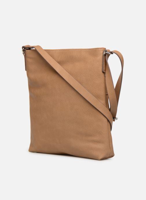 Bolsos de mano Esprit Lexi Shoulder Bag Beige vista lateral derecha
