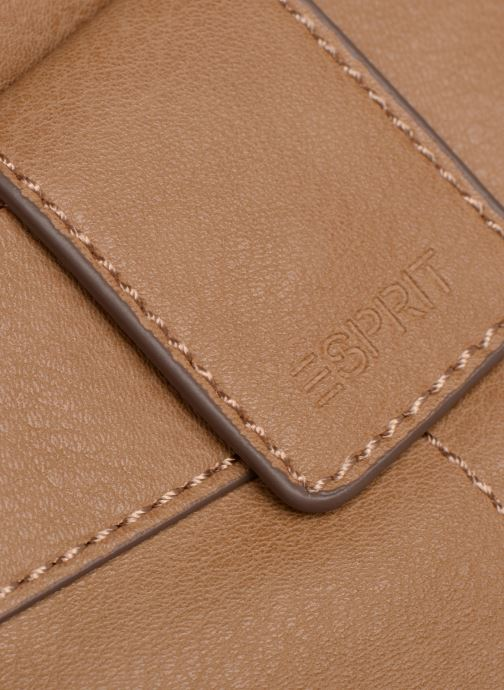 Bolsos de mano Esprit Lexi Shoulder Bag Beige vista lateral izquierda