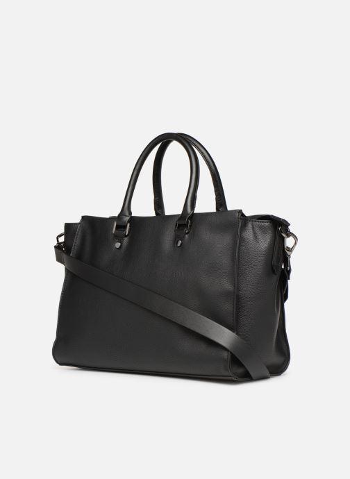 Sacs à main Esprit Lydia City Bag Noir vue droite