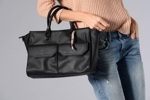 Sacs à main Esprit Lydia City Bag Noir vue bas / vue portée sac