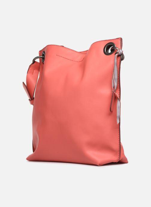 Handtaschen Esprit Lili Hobo rosa schuhe getragen