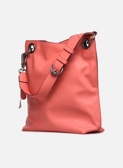 Handtaschen Esprit Lili Hobo rosa ansicht von rechts