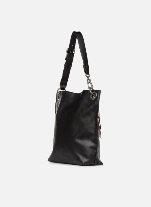 Handtaschen Esprit Lili Hobo schwarz ansicht von rechts