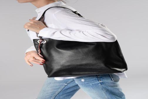 Handtaschen Esprit Lili Hobo schwarz ansicht von oben