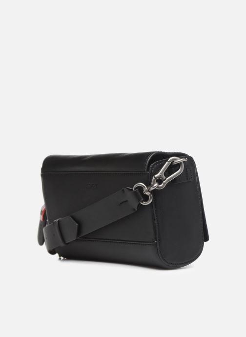 Bolsos de mano Esprit Lili Shoulder Bag Negro vista lateral derecha