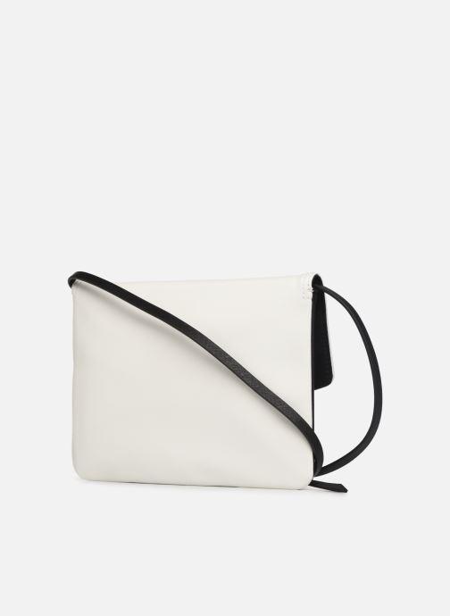 Handtassen Esprit Lara Clutch Wit rechts