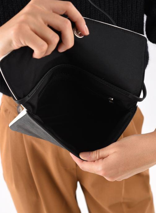 Håndtasker Esprit Lara Clutch Hvid se bagfra