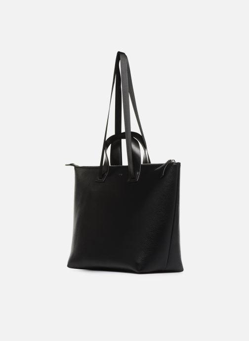 Handtaschen Esprit Lena Shopper schwarz schuhe getragen