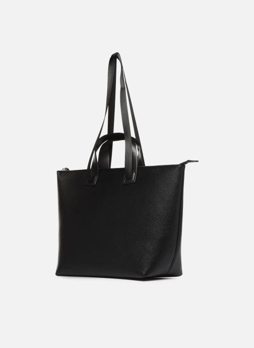 Handtaschen Esprit Lena Shopper schwarz ansicht von rechts