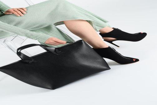 Handtaschen Esprit Lena Shopper schwarz ansicht von oben