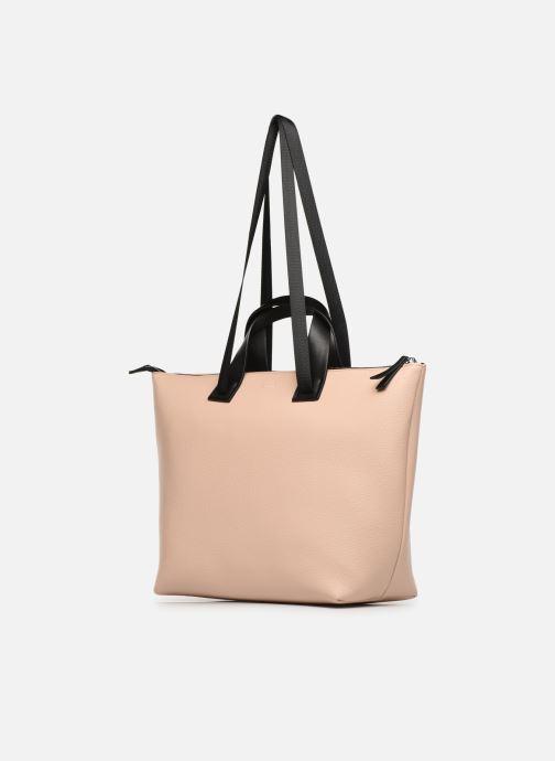Handtassen Esprit Lena Shopper Beige model