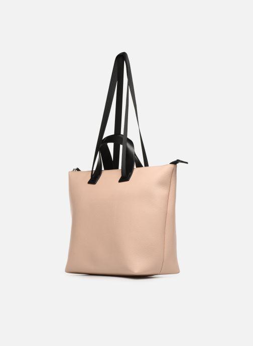 Handtassen Esprit Lena Shopper Beige rechts