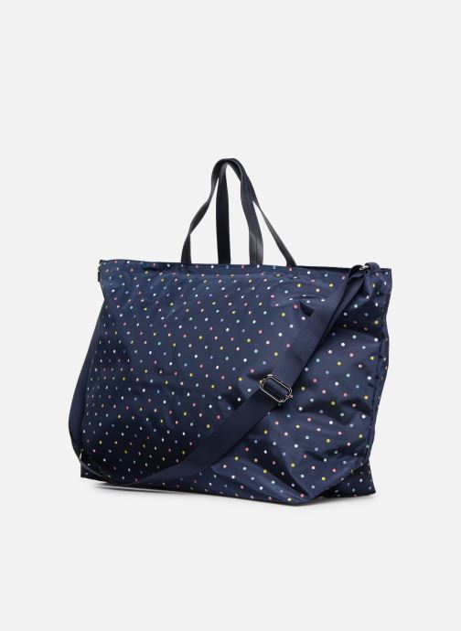 Sports bags Esprit Cleo Weekend Blue view from the right