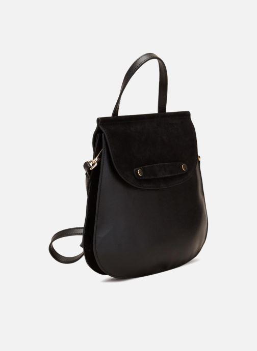 Handbags 70/30 Eleonora Black model view