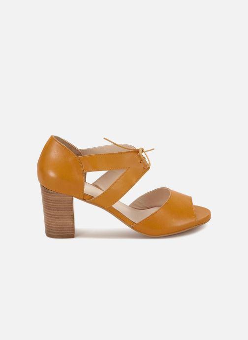 Sandales et nu-pieds 70/30 Quimper Jaune vue derrière