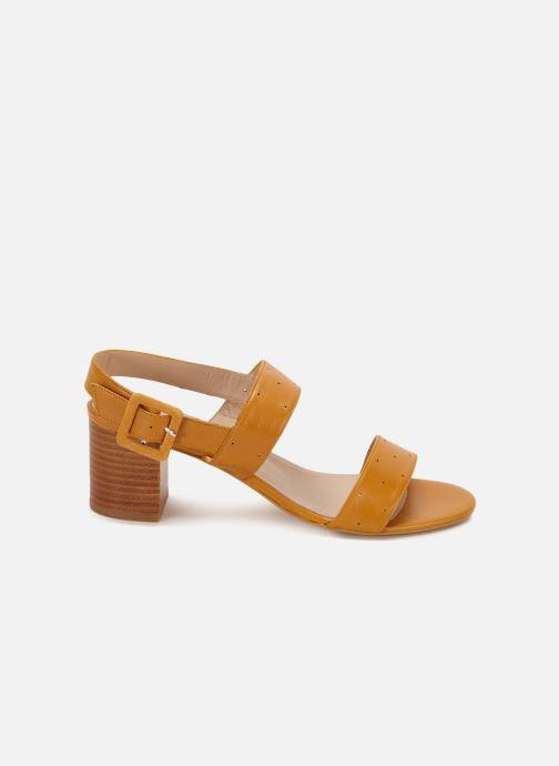 Sandales et nu-pieds 70/30 Lison Jaune vue derrière