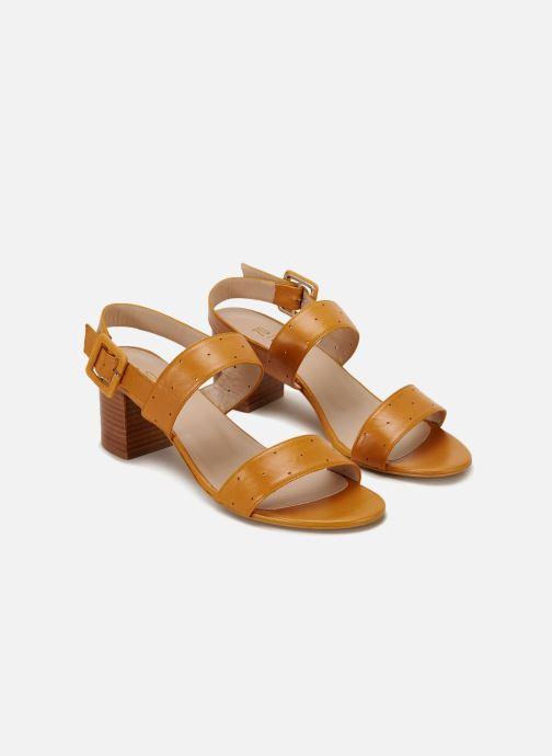 Sandales et nu-pieds 70/30 Lison Jaune vue détail/paire