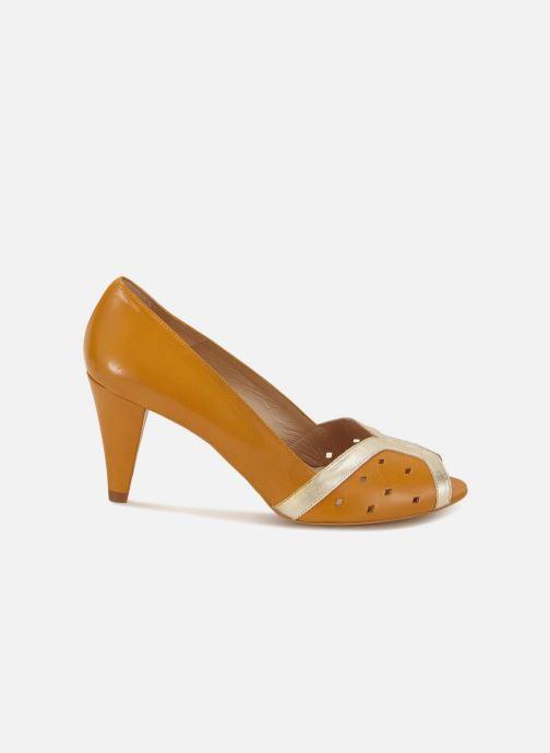 High heels 70/30 Dinard Yellow back view