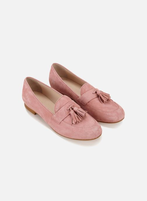 Loafers 70/30 Grasse Pink detailed view/ Pair view