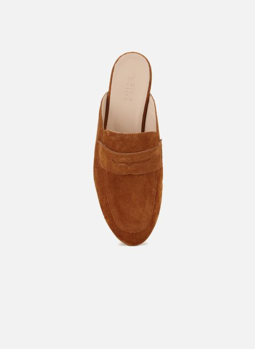 Wedges 70/30 Cabourg Bruin voorkant