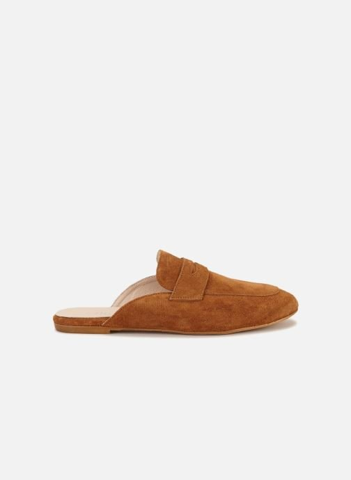 Wedges 70/30 Cabourg Bruin achterkant