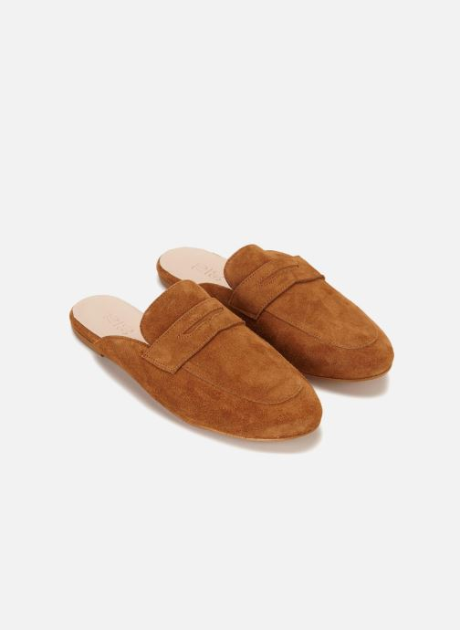 Wedges 70/30 Cabourg Bruin detail