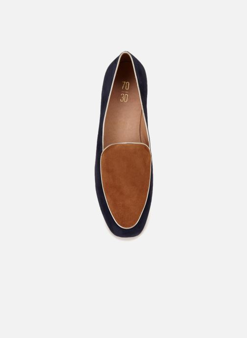 Loafers 70/30 Granville Blue front view