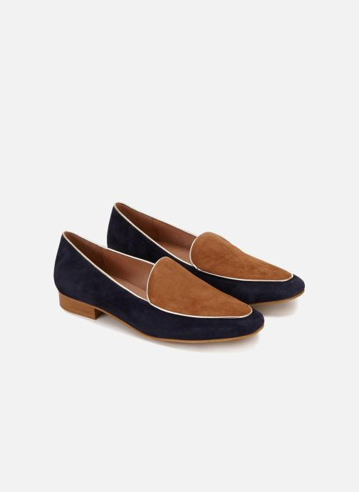 Loafers 70/30 Granville Blue detailed view/ Pair view
