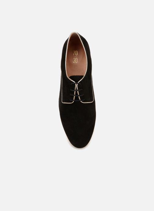 Chaussures à lacets 70/30 Vernon Noir vue face