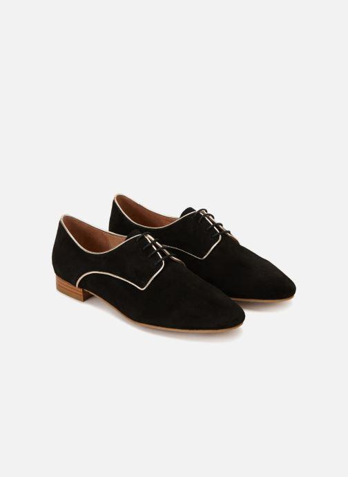 Chaussures à lacets 70/30 Vernon Noir vue détail/paire
