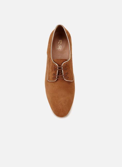 Chaussures à lacets 70/30 Vernon Marron vue face
