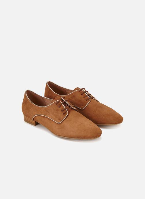 Chaussures à lacets 70/30 Vernon Marron vue détail/paire