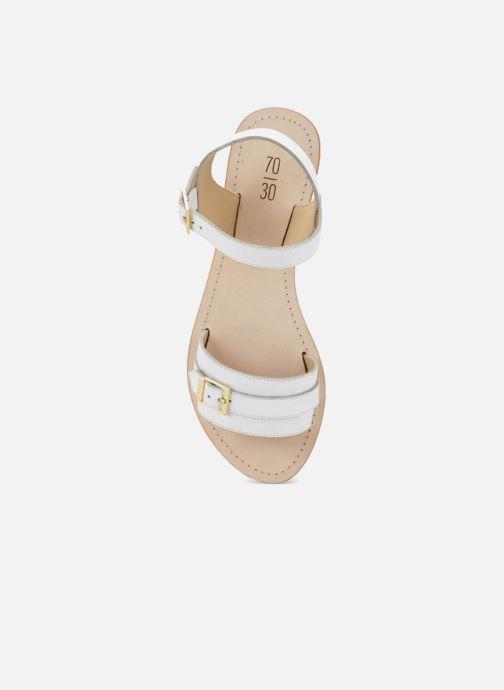 Sandales et nu-pieds 70/30 Ales Blanc vue face